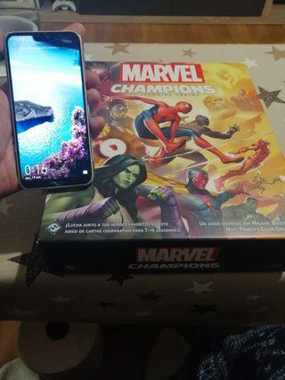 Marvel Champions enfundado y con separadores