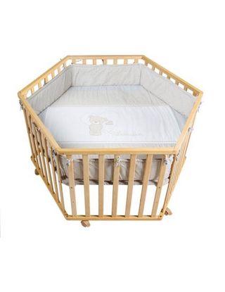 Parque infantil de madera para bebe 0-3 años