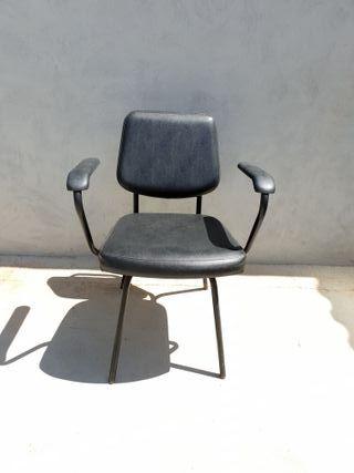 silla de peluqueria para lavacabezas en color negr