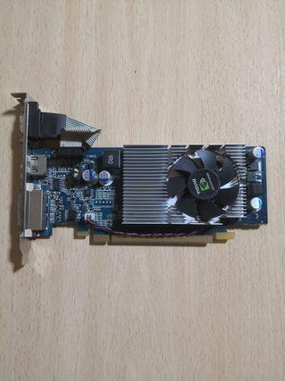GRÁFICA HDMI/DVI/VGA, G210 512MB/DDR2