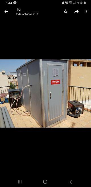cabina de amianto