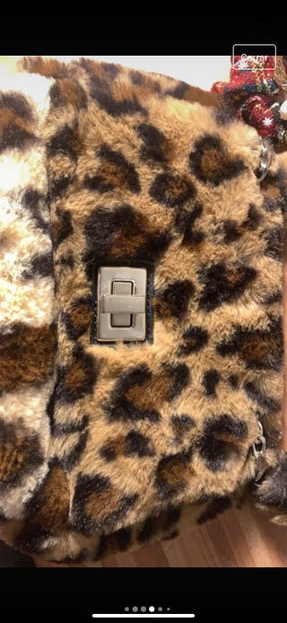 Bolso pelito leopardo PRECIO NEGOCIABLE
