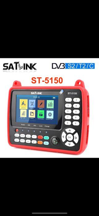 Medidor de campo satlink 5150