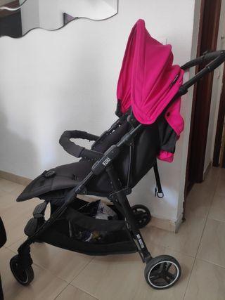 Silla de paseo Baby Monster kuki Pink