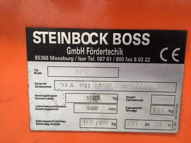 Transpaleta eléctrica Steinbeck WP12