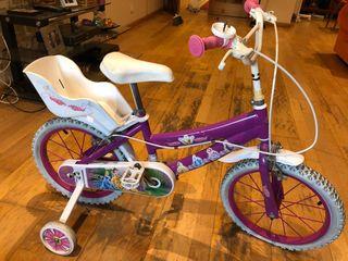 Bicicleta 16 pulgadas disney