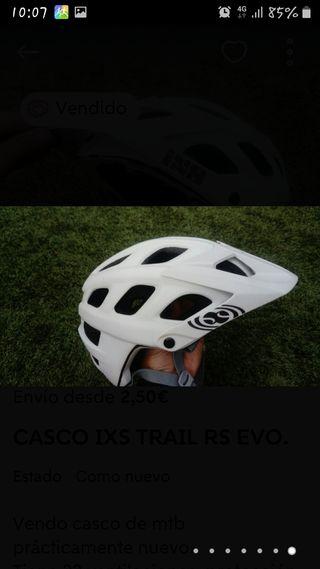 casco ixs trail rs evo
