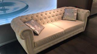 Sofa de diseño chester retro polipiel