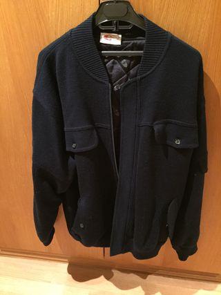 Chaqueta abrigo 50% lana