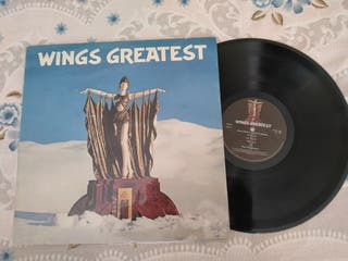 Wings ,greatest ,disco vinilo