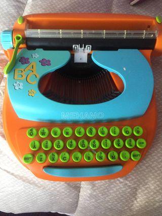 Máquina de escribir infantil