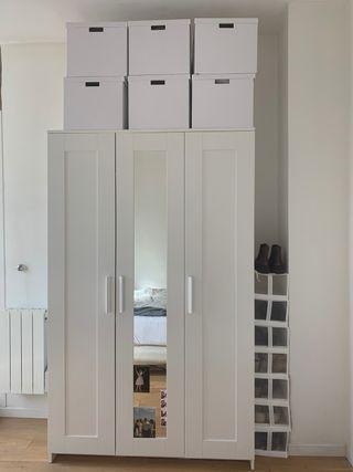 Armoire 3 portes blanc IKEA