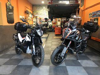 Mecánica, neumáticos mantenimiento para motos