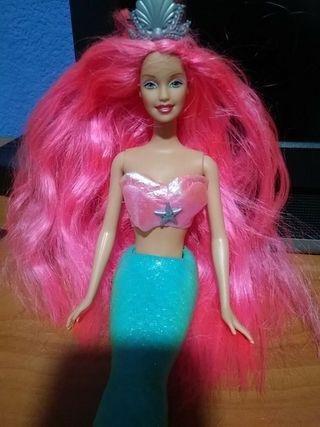 barbie sirena fantasía
