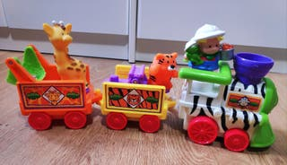 Tren musical del zoo Fisher Price