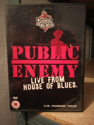 DVD PUBLIC ENEMY.