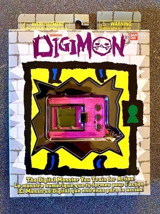 ÚNICO EN ESPAÑA Digivice ROSA Digimon Bandai NUEVO