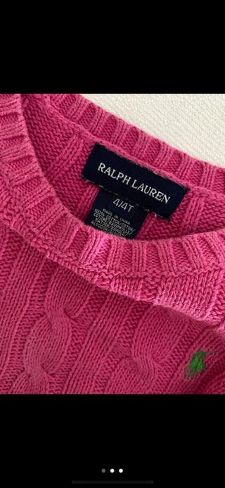 Jersey Polo Ralph Lauren niña 4