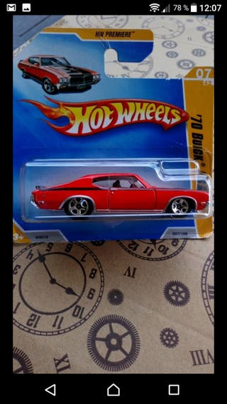 '70 Buick GSX Red Hot wheels 2009