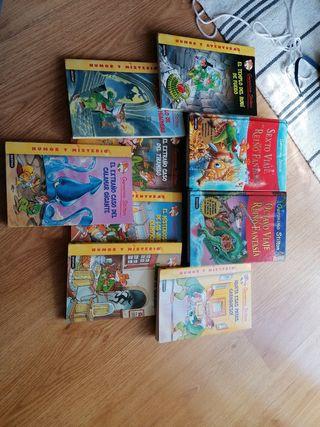 Pack de libros de Geronimo Stilton