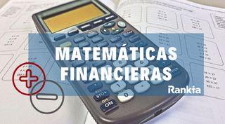Clases particulares Matematicas financieras