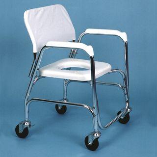 silla para Ducha con Ruedas y WC