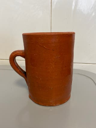 Taza de barro