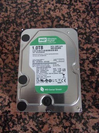 DISCO DURO SATA 3. 5 PULGADAS DE 1000 GB.