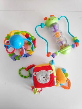 Set juguetes bebé
