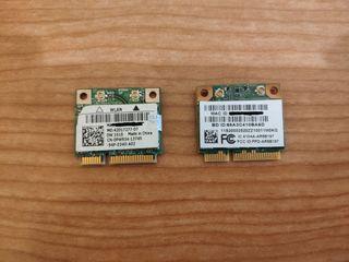 Tarjetas Wifi 5G Mini PCI-E para portátil 5€/u