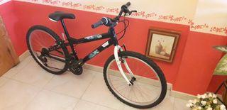 Bicicleta de Montaña, 24 pulgadas.