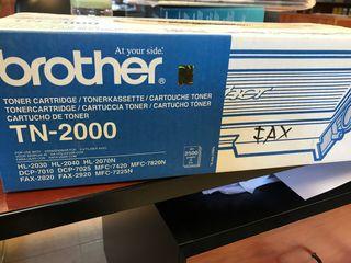 Toner original Brother TN-2000