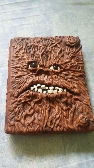 diario infantil monstruo