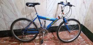 "Bicicleta de montaña de rueda de 24"""
