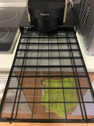 Cajón de acero inoxidable 60 cápsulas Nespresso