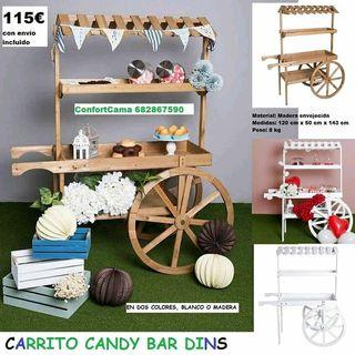 carritos Candy bar desde