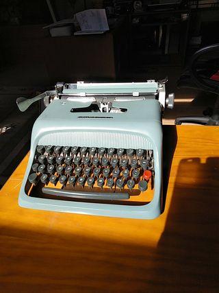 Máquina escribir. Colección