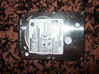 DISCO DURO SATA 2.5 PULGADAS DE 500 GB.