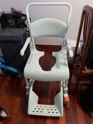 silla hospitalaria para ducha