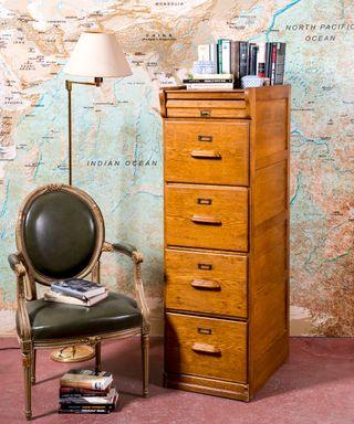 Mueble Archivador Antiguo