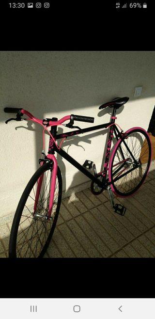 bicicleta fixie kamikaze piñon fijo y single