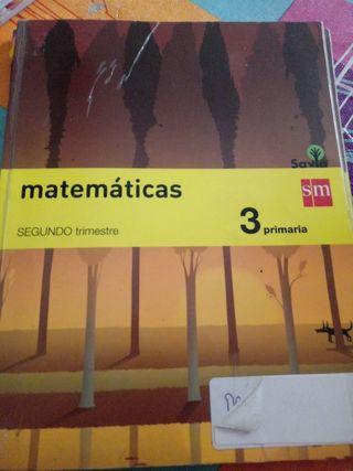 libros de texto. matematicas.3 primaria.