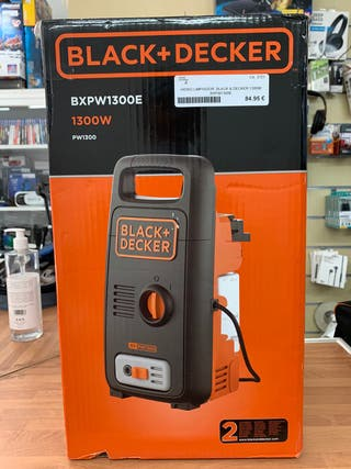 HIDROLIMPIADORA BLACK AND DECKER 1300W
