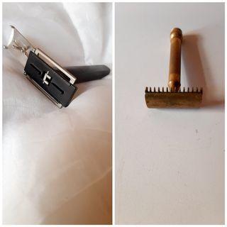 2 máquinas afeitar