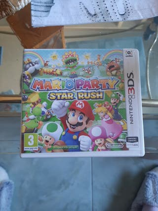 "Juego nintendo 3DS ""Mario Party Star Rush"""