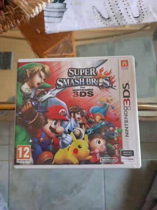 """Juego nintendo 3DS """"Super Smash Bros"""""""
