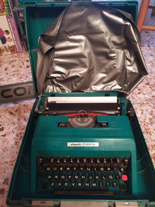 maquina escribir olivetti studio 45
