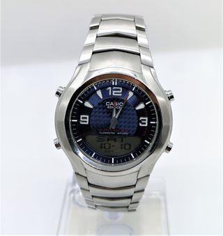 Reloj Casio digital y analógico