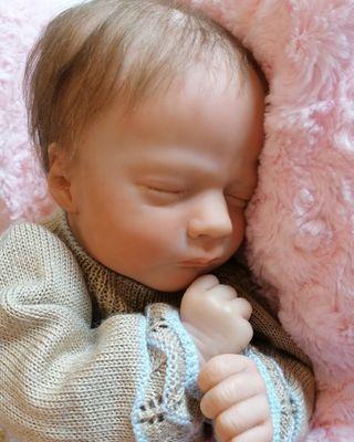 bebé reborn, Realborn Ashley sleeping.