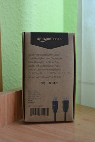 Cable DisplayPort v1.2 144hz - 0,9 m AmazonBasics